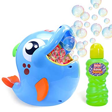 Bubble Machine Automatic Durable Bubble Blower for Kids