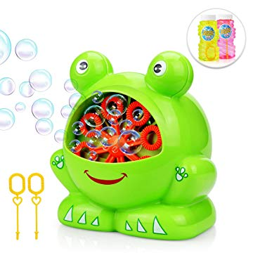 Bubbles Hurricane Machine, Betheaces Toys for Kids Boys Girls Age of 4,5,6,7,8-16 Durable Bubble Maker