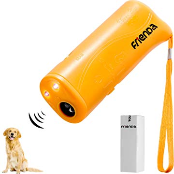 Frienda Ultrasonic Dog Repeller, Stop Bark and Training Device