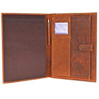 Handmade GENUINE LEATHER Business Portfolio by Rustic
