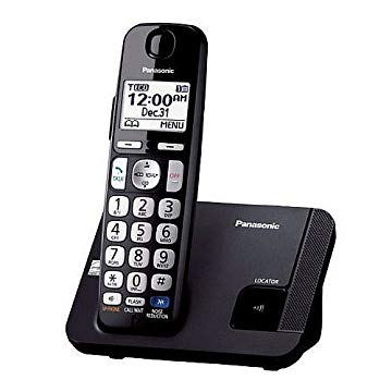 Panasonic DECT 6.0 PLUS Big Button Expandable Cordless Phones